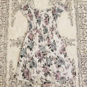 Divided Floral Print Stretch Dress Sz. 10